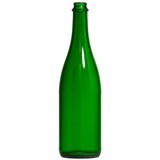 Champagne Green 750 ml Bottles