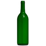 Screw Top Green 750 ml Wine Bottles