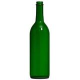Screw Top Green Wine Bottles 750 mL - 12/Case