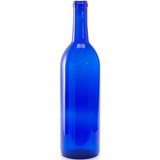 Cobalt Blue 750 ml Wine Bottles