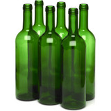 Green 750 ml Wine Bottles