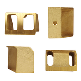 4-Brass Jaws Set For Italian Floor Corker