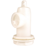 Plastic Airlock For Variable Capacity Tanks