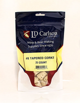 #8 Tapered Corks (25/Bag)