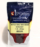 Burgundy Bottle Seal Wax Beads 1 lb