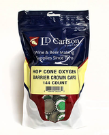Hop Cone Crown Caps (144/Bag)