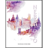 Nebbiolo Wine Labels 30 ct