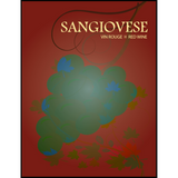 Sangiovese Wine Labels 30 ct