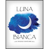 Luna Bianca Wine Labels 30 ct