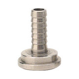 "Sankey Liquid Side 1/4"" Stainless Steel Barbed Tail Piece"