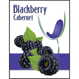 Blackberry Mist Wine Labels 30 ct