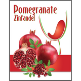 Pomegranate Mist Wine Labels 30 ct