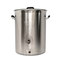 8 Gallon Brewers BeAst Brewing Kettle with Two Ports