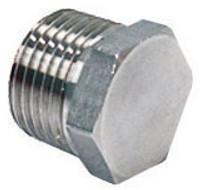 "1/2"" NPT Stainless Steel Hex Plug for Kettles"