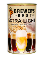 Dented Brewer's Best Extra Light Liquid Malt Extract 3.3 lb