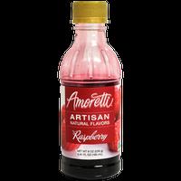 Raspberry Fruit Puree 8 oz