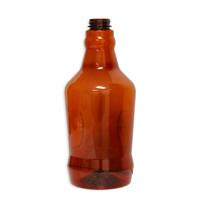 Amber PET Growler 64 oz