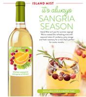 Winter Sangria Island Mist Premium Wine Kits