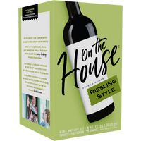 On The House Riesling Style Wine Kit