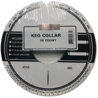 Keg Collar 50 Pack