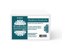 Blackberry with Black Tea Kombucha Ingredient Kit