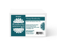 Hemp with Green Tea Kombucha Ingredient Kit