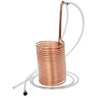 Polar Ware Copper Wort Chiller 70 ft. with Garden Hose Attachments