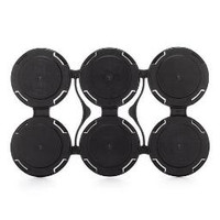 6-Can Carrier - Black Single Count