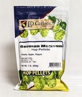 German Magnum Hop Pellets 1 lb