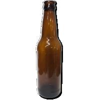 Amber Beer Bottles 12 oz - 24 Count