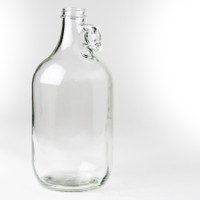 Clear Half Gallon Glass Jug