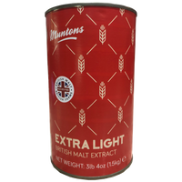Muntons Extra Light Liquid Malt Extract 3.3 lb