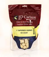 #7 Tapered Corks (100/Bag)