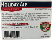 Holiday Ale Beer Kit