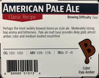 American Pale Ale Beer Kit