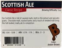 Scottish Ale Beer Kit