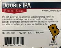 Double IPA Beer Kit