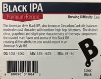 Black IPA Beer Kit