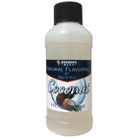 Natural Coconut Flavoring 4 oz