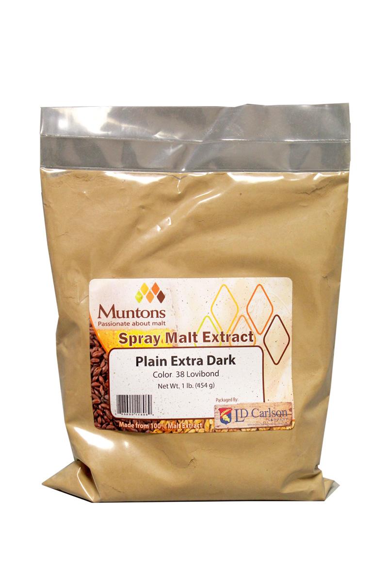 Muntons 3 Lb Plain Extra Dark Spray Dried Malt Extract