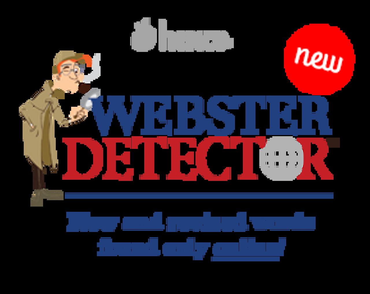 Webster Detector