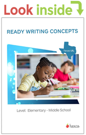 look inside grade school middle school ready writing concepts