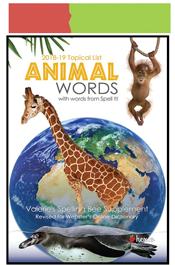 look inside animal words topical list
