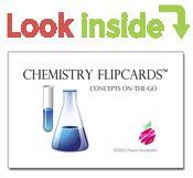 look inside chemistry flipcards