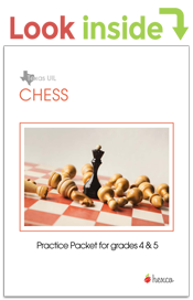 look inside chess puzzle practice packet grades 4-5
