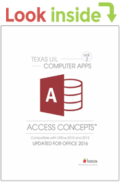 look inside computer applications access concepts