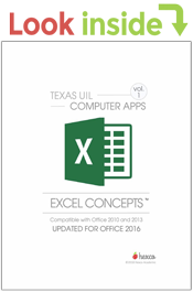 look inside computer applications excel concepts