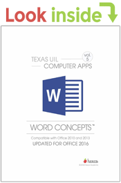 look inside computer applications word concepts