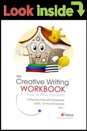 look inside creative writing workbook volume 1