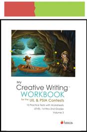 look inside creative writing workbook volume 3